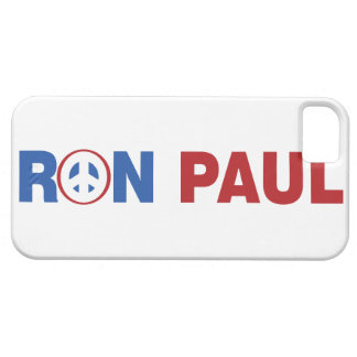 Ron Paul 2012 The Peace Candidate iPhone 5 Cases
