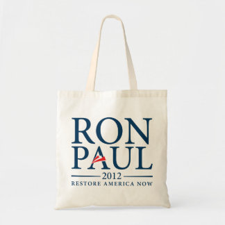 Ron Paul 2012 Tote Canvas Bags