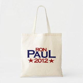 Ron Paul 2012 Budget Tote Bag