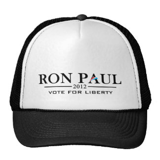 Ron Paul 2012 - Vote for Liberty (black) Trucker Hats