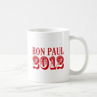 RON PAUL 2012 (Western) Mugs