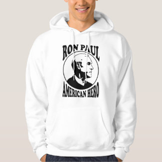 Ron Paul American Hero Hooded Sweatshirt