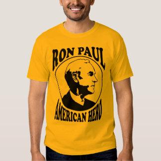 Ron Paul American Hero T-shirts