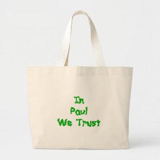 Ron Paul Tote Bags