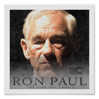 Ron Paul Campaign For Liberty Poster