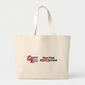 Ron Paul Campaign For Liberty Revolution Canvas Bag