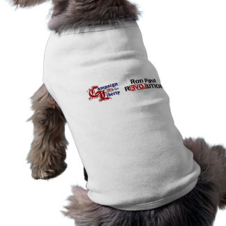 Ron Paul Campaign For Liberty Revolution Doggie Tee