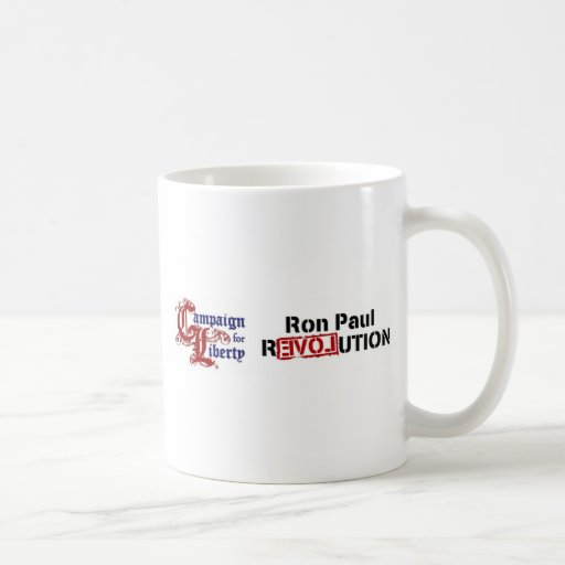 Ron Paul Campaign For Liberty Revolution Coffee Mug