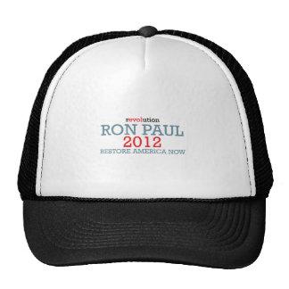 RON-PAUL TRUCKER HATS
