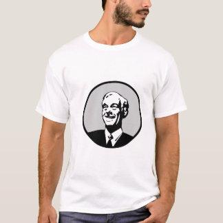 Ron Paul Circle Gray T-Shirt