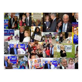 Ron Paul collage Postcard
