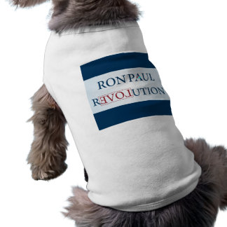 Ron Paul Sleeveless Dog Shirt
