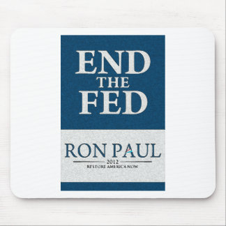 Ron Paul End the Fed Banner Mousepads