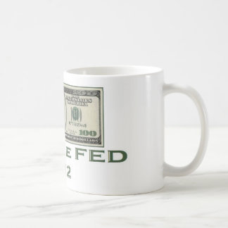 """Ron Paul """"End the Fed"""" Basic White Mug"""