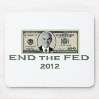 Ron Paul End the Fed Mousepad