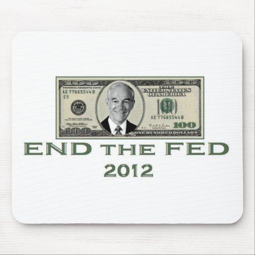 "Ron Paul ""End the Fed"" Mousepad"