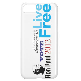 Ron Paul Every Generation Deserves To Live Free iPhone 5C Cases