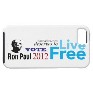 Ron Paul Every Generation Deserves To Live Free Tough iPhone 5 Case