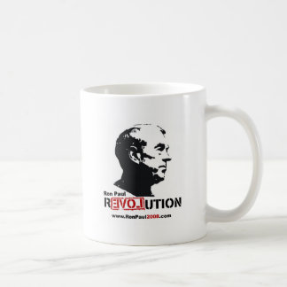 Ron Paul face Stencil - Revolution Coffee Mug