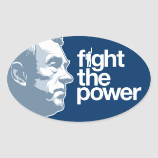 Ron Paul Fight The Power Stickers