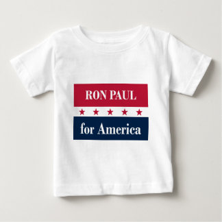 Ron Paul for America Baby T-Shirt