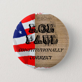RON PAUL for pres 6 Cm Round Badge