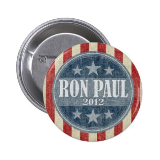 Ron Paul for President 2012 Campaign Button