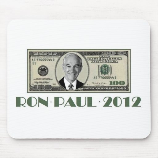 Ron Paul for President 2012 Mousepads