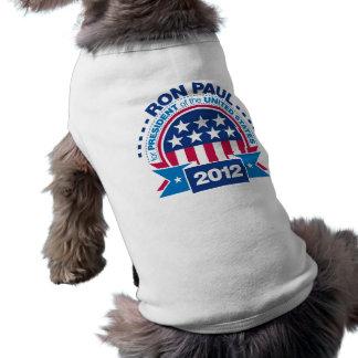 Ron Paul for President 2012 Sleeveless Dog Shirt