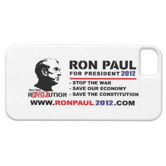 Ron Paul For President 2012 www.ronpaul2012.com iPhone 5 Covers