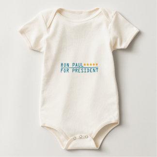 RON-PAUL-FOR-PRESIDENT BABY BODYSUIT