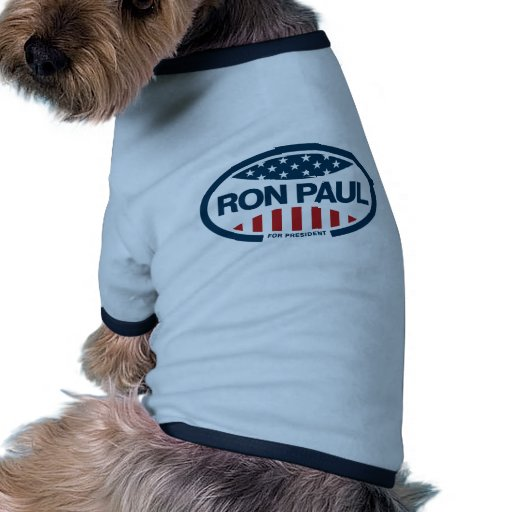 Ron Paul for president Dog Tee Shirt