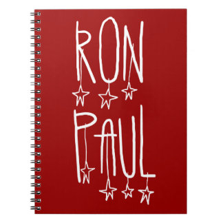 Ron Paul for President Spiral Note Books