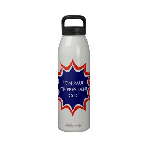 Ron Paul For President Reusable Water Bottles