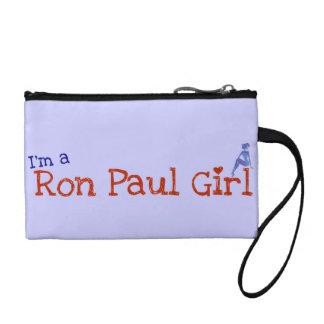 Ron Paul Girl Wrist clutch Coin Wallet