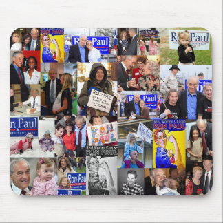Ron Paul Girls Mouse pad