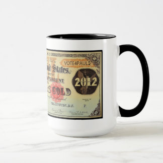 Ron Paul Gold Certificate Mug