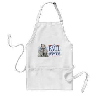 Ron Paul GOP Mascot 2012 Adult Apron