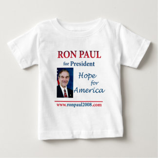 Ron Paul - Hope for America 24 x 24 Baby T-Shirt