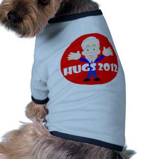 Ron Paul hugs 2012 Doggie Tshirt