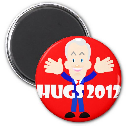 Ron Paul hugs 2012 Magnet