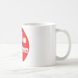Ron Paul hugs 2012 Basic White Mug