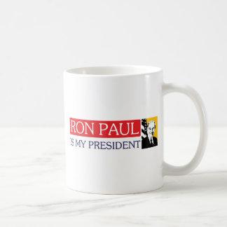 Ron Paul is my President Mugs