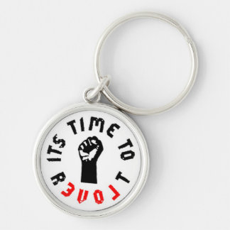 Ron Paul It's Time to Revolt Keychain