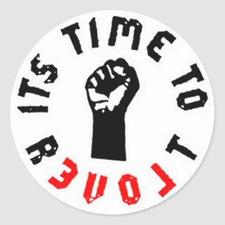 Ron Paul It's Time to Revolt Sticker