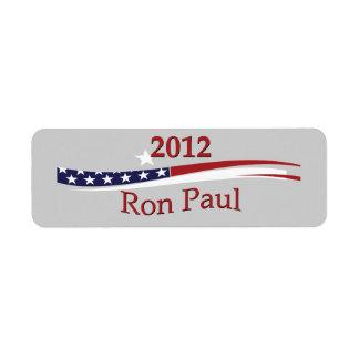 Ron Paul Labels