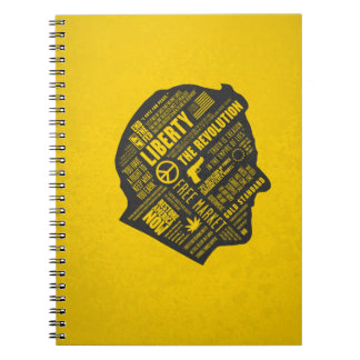 Ron Paul Libertarian Abstract Thought Notebook