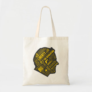Ron Paul Libertarian Abstract Thought Tote Tote Bag