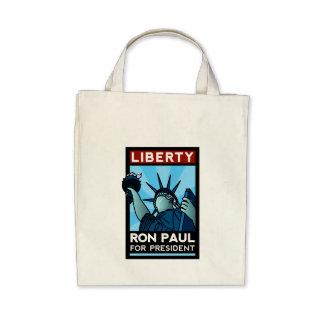 Ron Paul Liberty Tote Bags