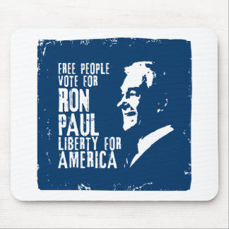 Ron Paul Liberty for America Mouse Pad